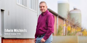 Edwin Michiels Nuffield scholar 2018