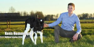 Kees Hemminga Nuffield scholar 2018